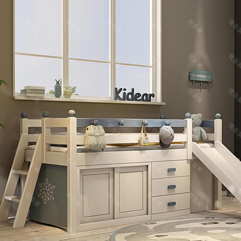 北欧儿童风格北欧-安琪拉儿童床
