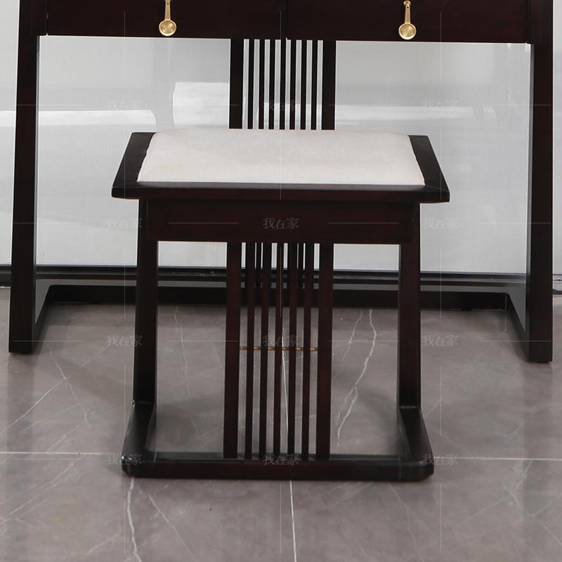 新中式风格云涧梳妆凳