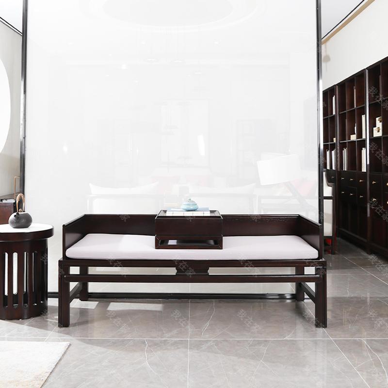 新中式风格清秋罗汉床