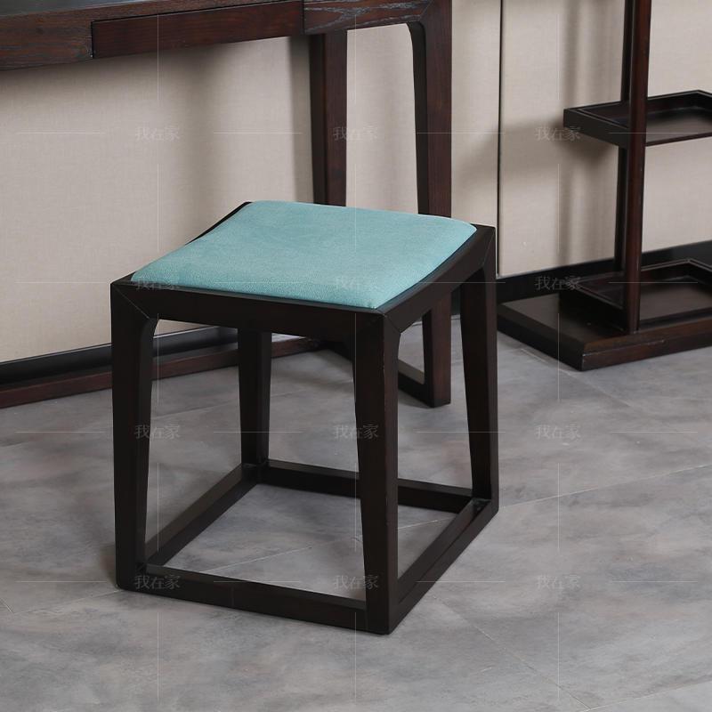 新中式风格锦里梳妆凳