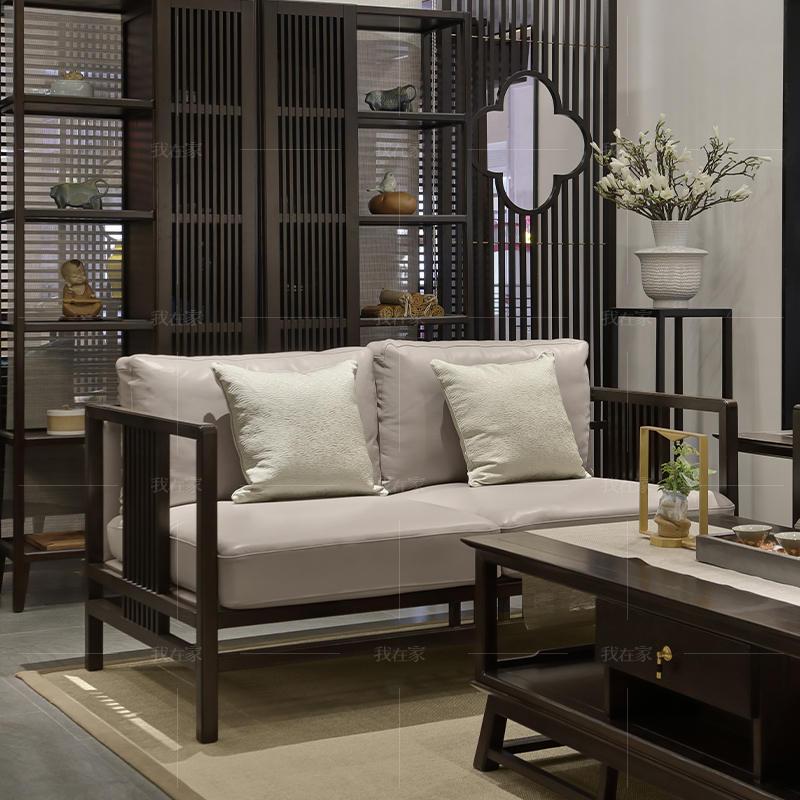 新中式风格尔雅沙发