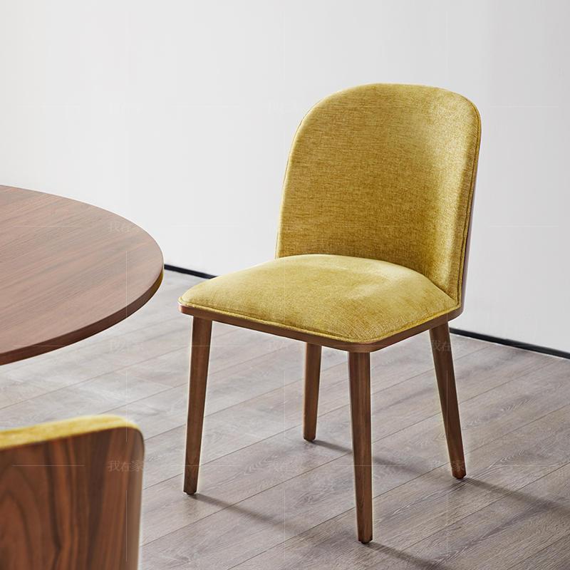 意式极简风格巴里餐椅(样品特惠)