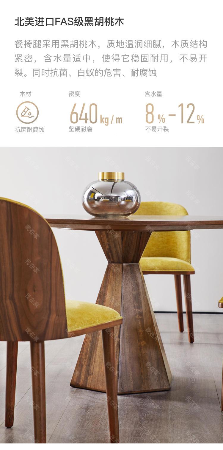 意式极简风格贝蒂餐椅的家具详细介绍