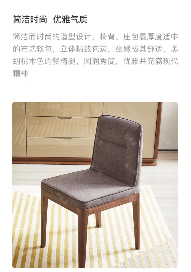意式极简风格洛蕾餐椅的家具详细介绍