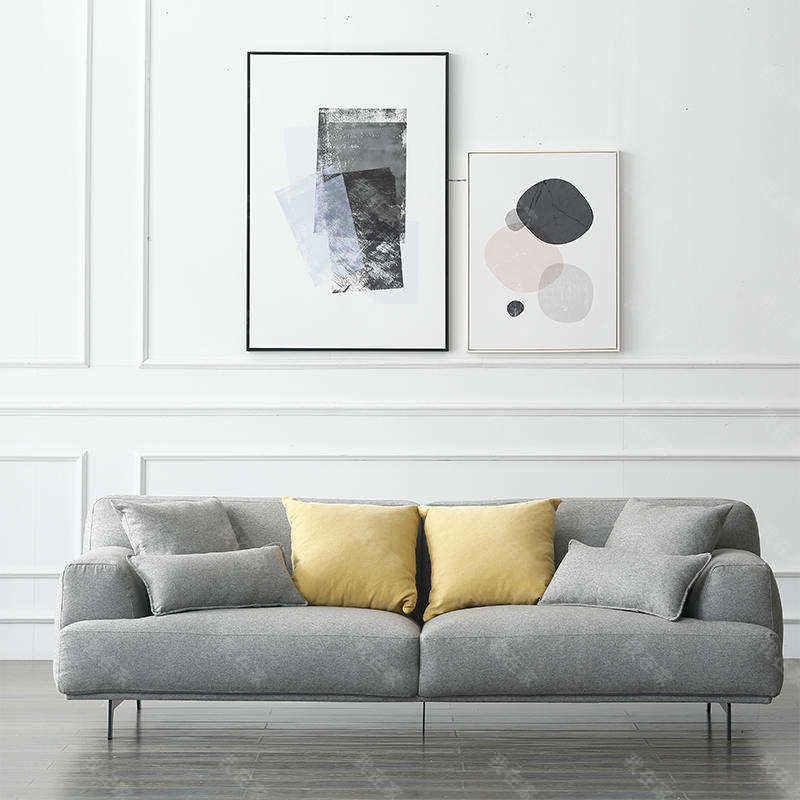 原木北欧风格随心沙发