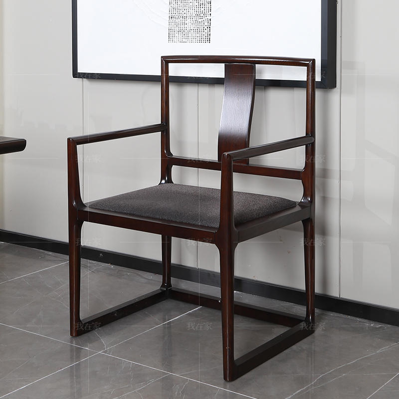 新中式风格云涧茶椅