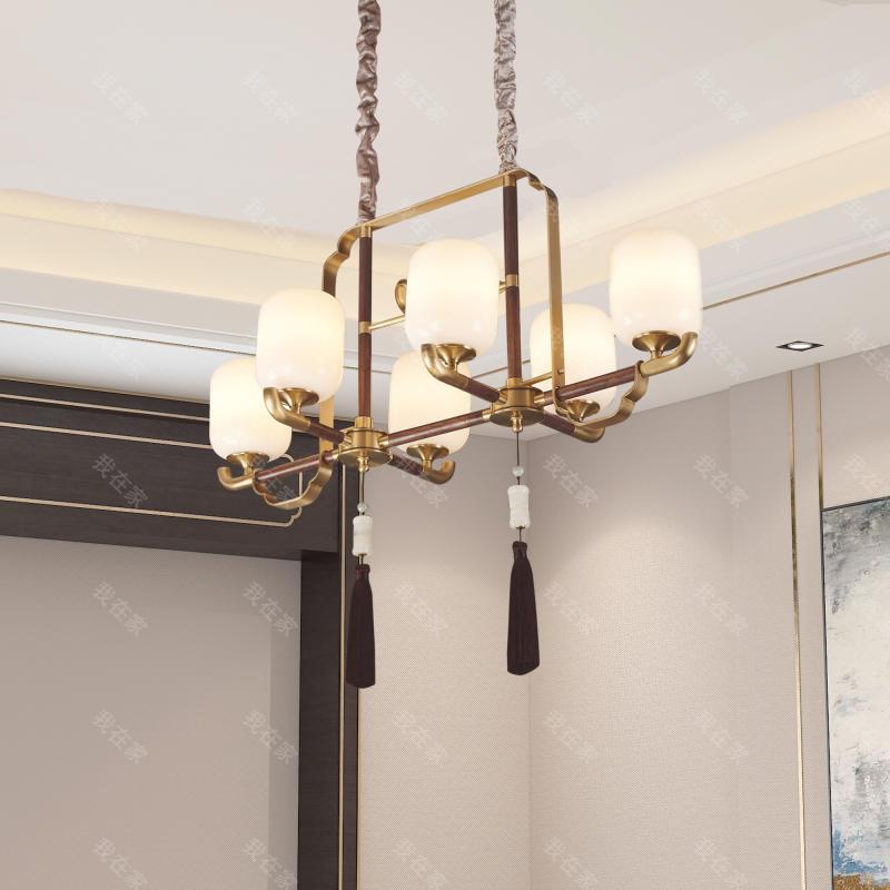 中式灯品牌新中式婉约餐吊灯