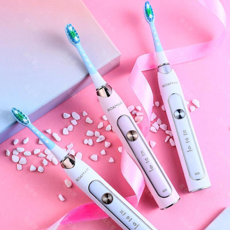 罗曼品牌罗曼净白洁齿电动牙刷