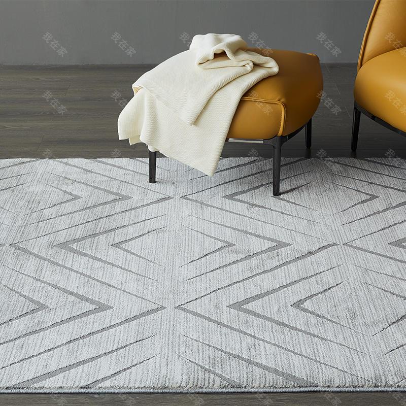地毯品牌菱形艺术地毯