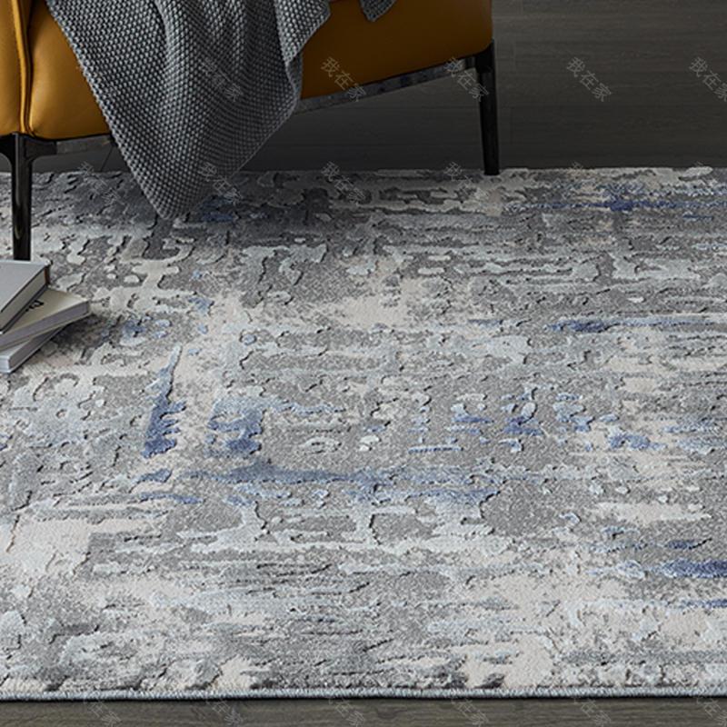 地毯品牌艺术泼墨机织地毯