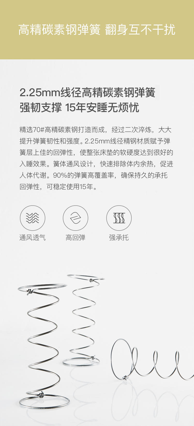 HKF系列DL02双面温感床垫的详细介绍