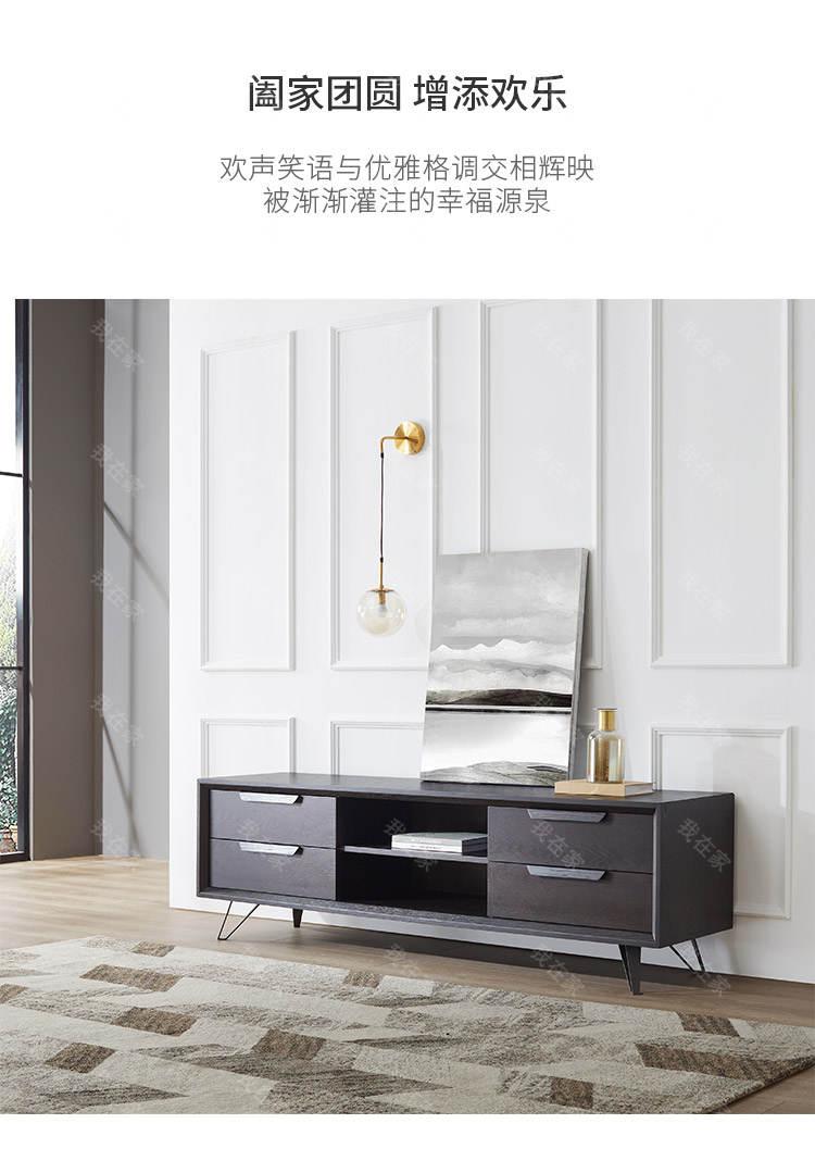 意式极简风格胖熊电视柜的家具详细介绍