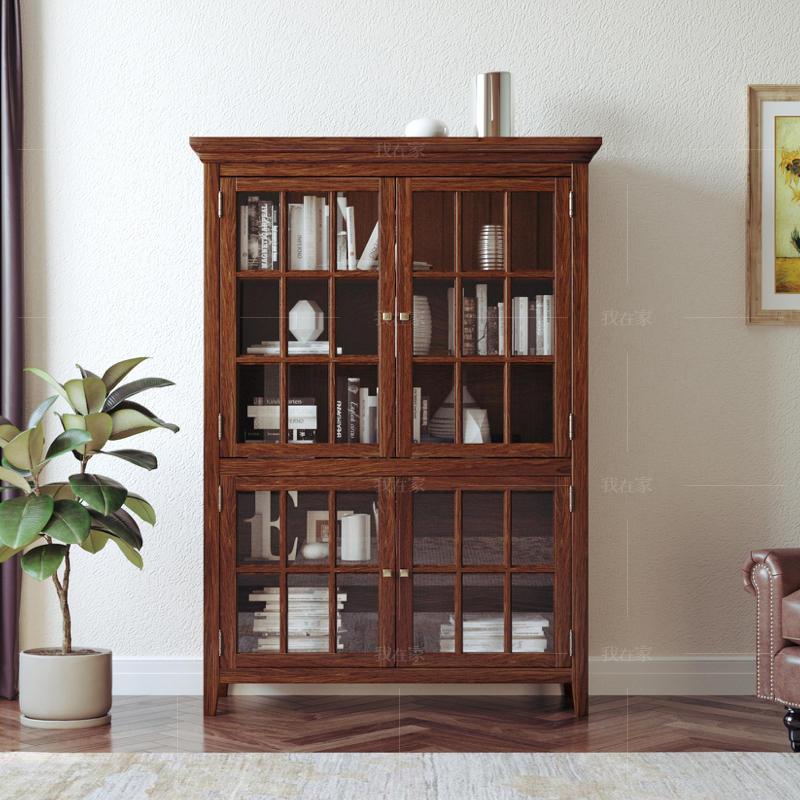 简约美式风格密苏里书柜