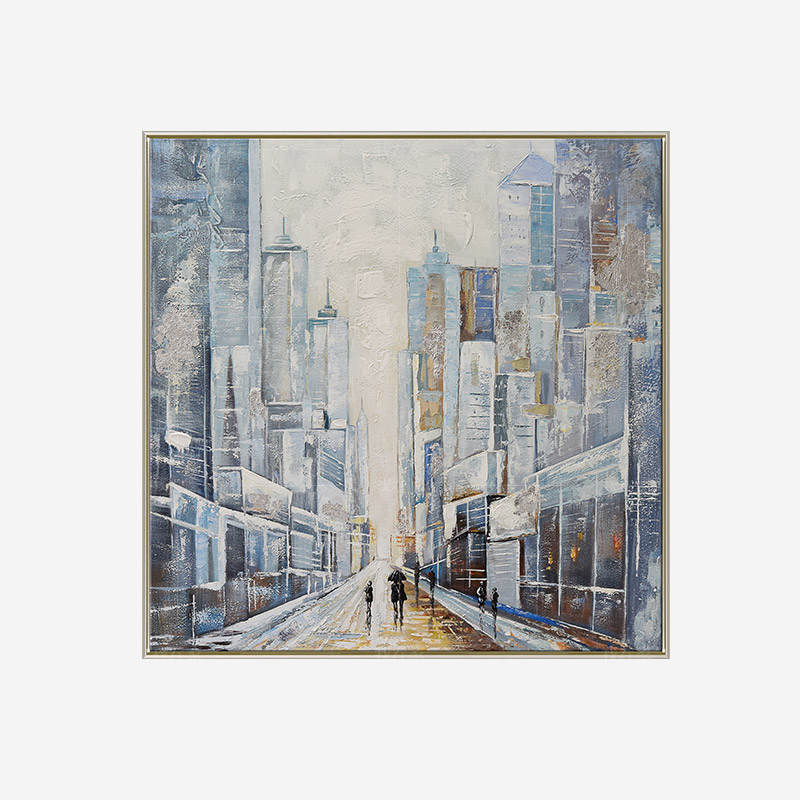 绘美映画系列现代街景 简美装饰画
