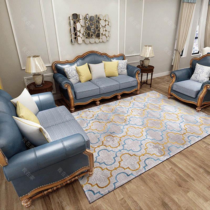地毯品牌格纹艺术地毯