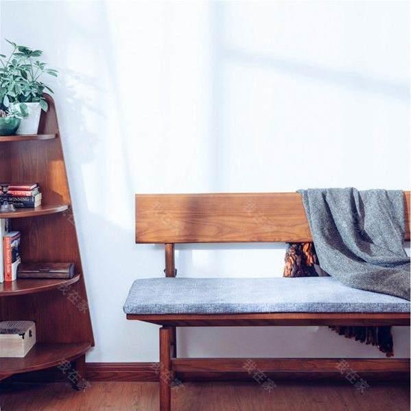 新中式风格知足长条凳