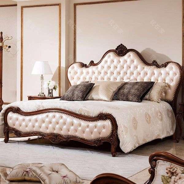古典欧式风格凯瑟琳双人床