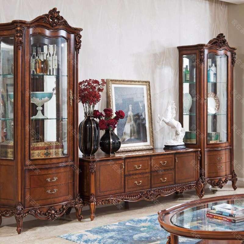 古典欧式风格凯瑟琳电视柜
