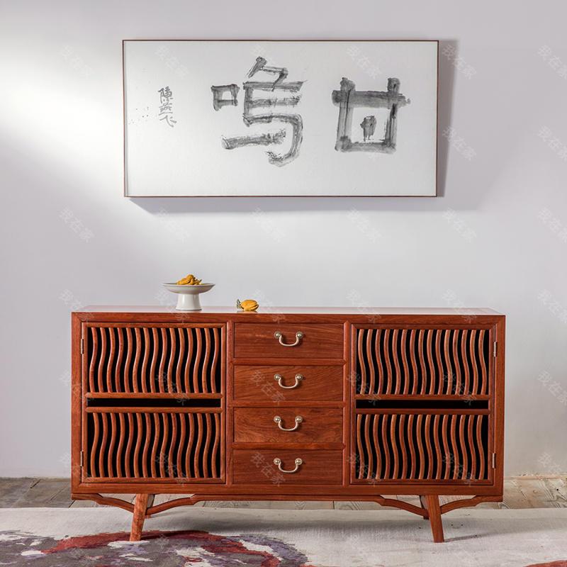 新中式风格见山餐边柜
