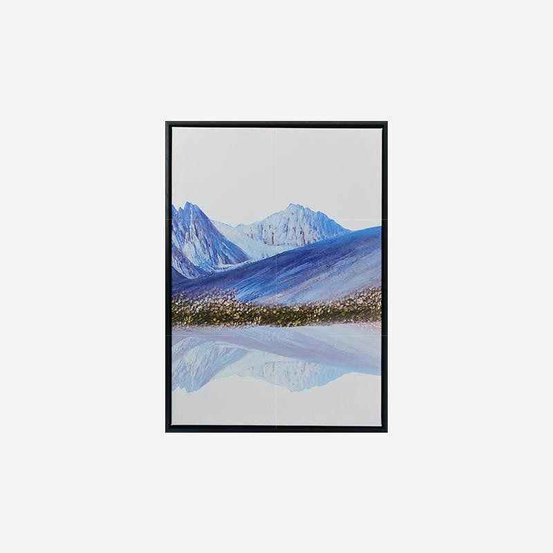 绘美映画系列青山 山水装饰画