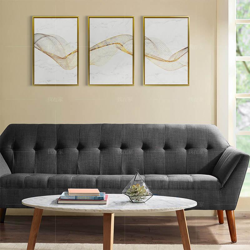 现代简约风格几何艺术 北欧抽象挂画