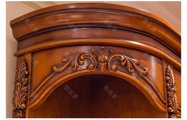 古典欧式风格卡莱尔组合书柜的家具详细介绍