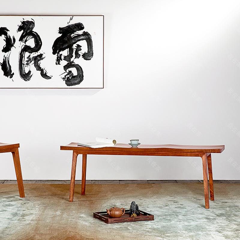 新中式风格天地长款马凳