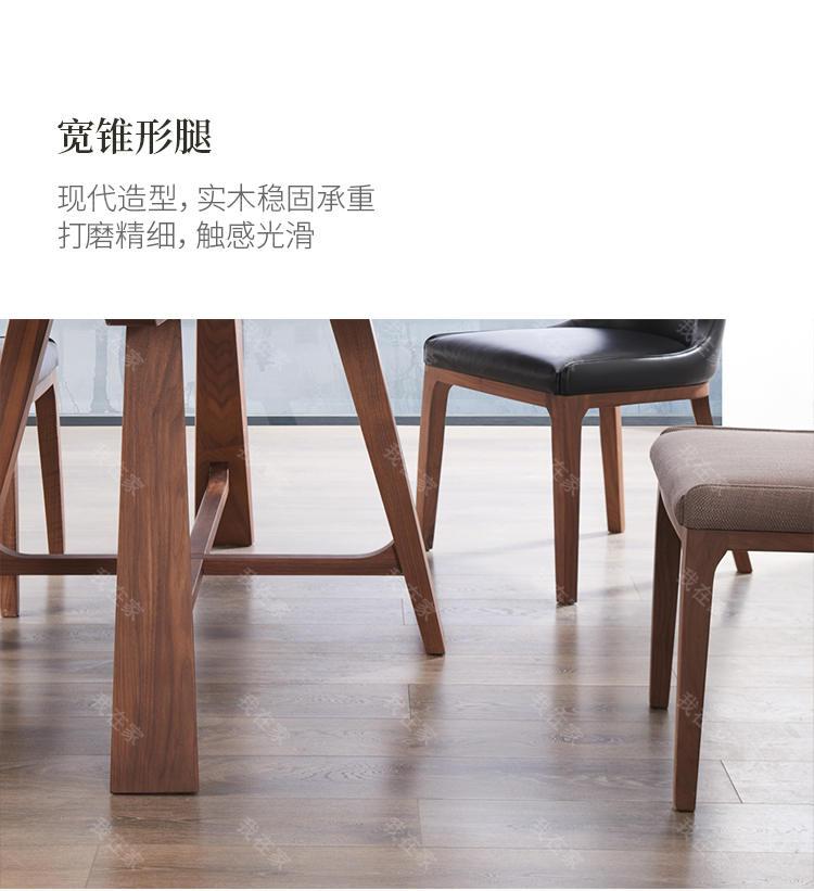 意式极简风格玛菲餐桌(样品特惠)的家具详细介绍
