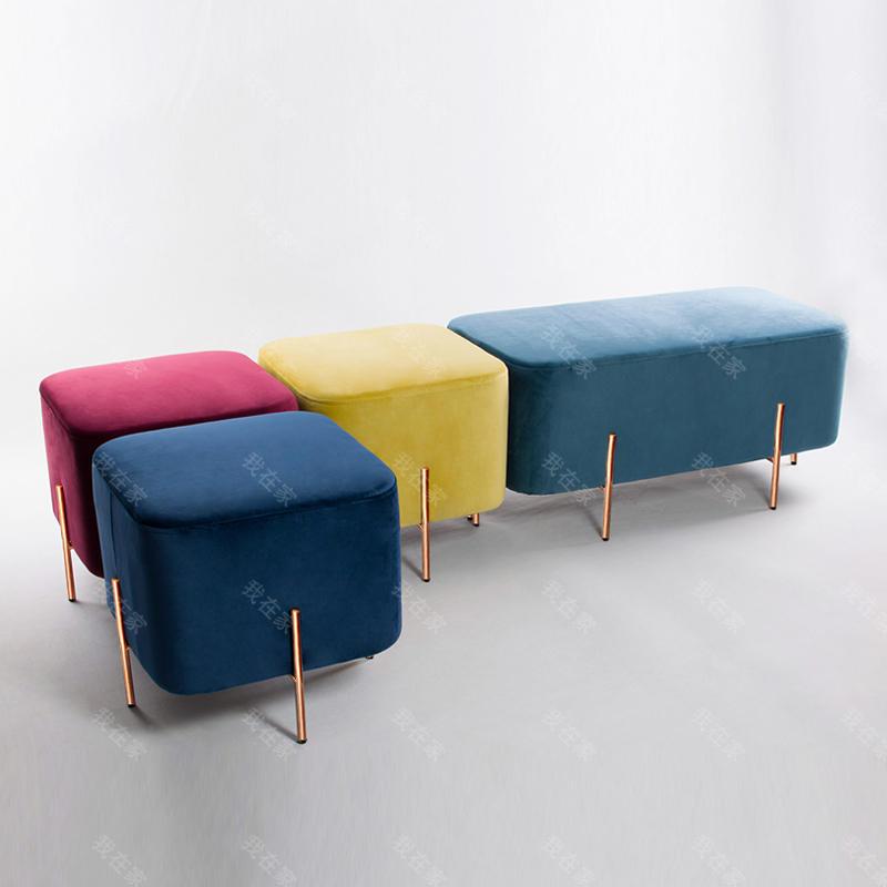 色彩北欧风格大象凳子升级版