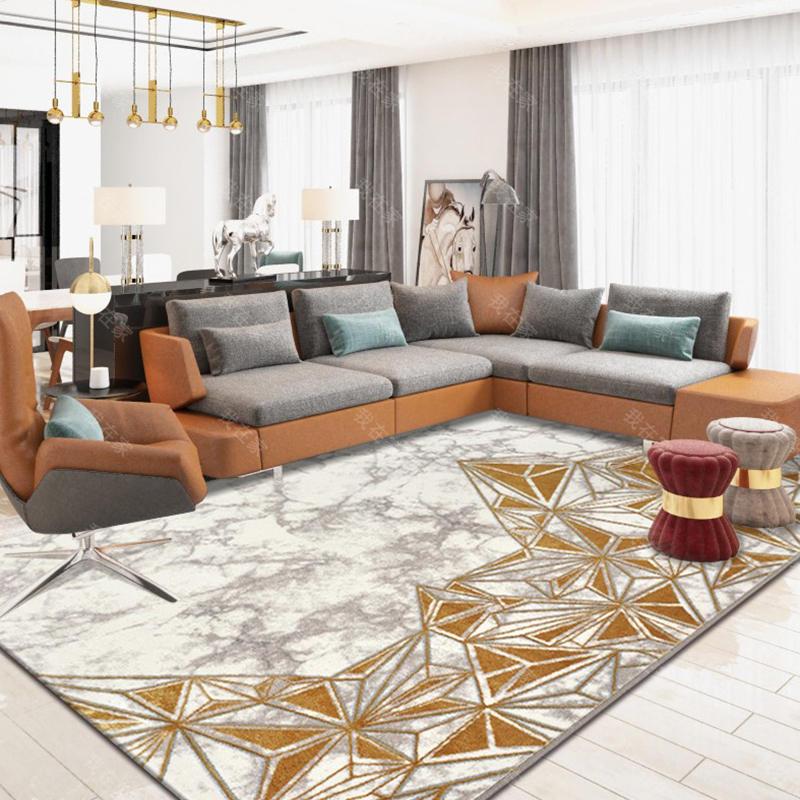 地毯品牌轻奢抽象机织地毯