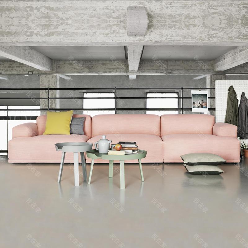 色彩北欧风格微光沙发