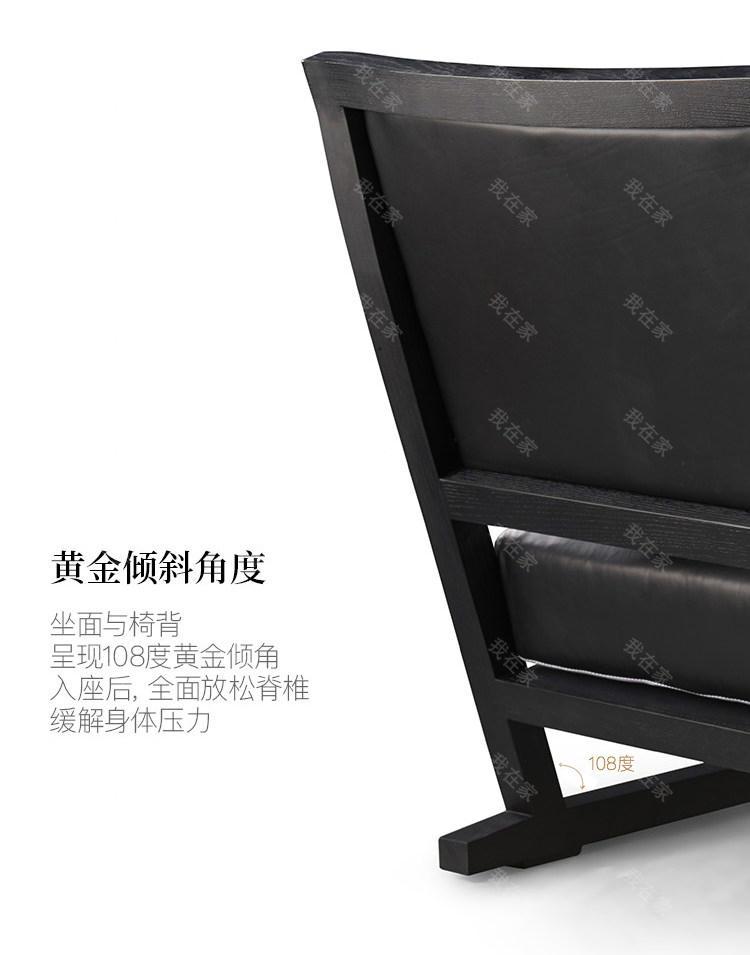 意式极简风格格调休闲椅的家具详细介绍