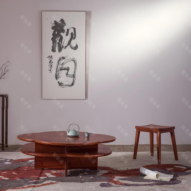 新中式风格天地小马凳