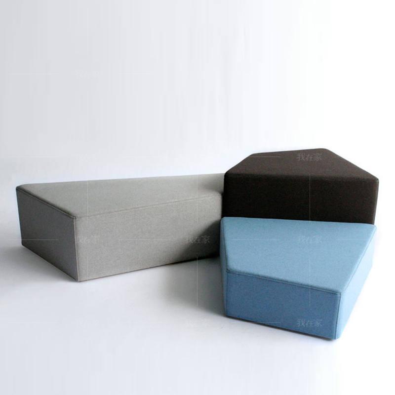 色彩北欧风格原山沙发