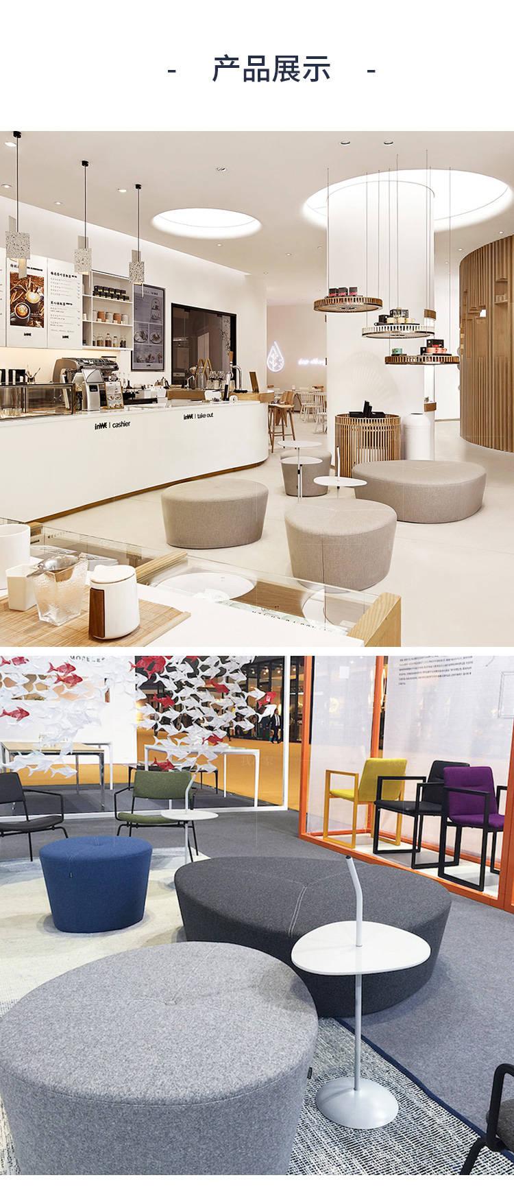 色彩北欧风格荷叶沙发的家具详细介绍