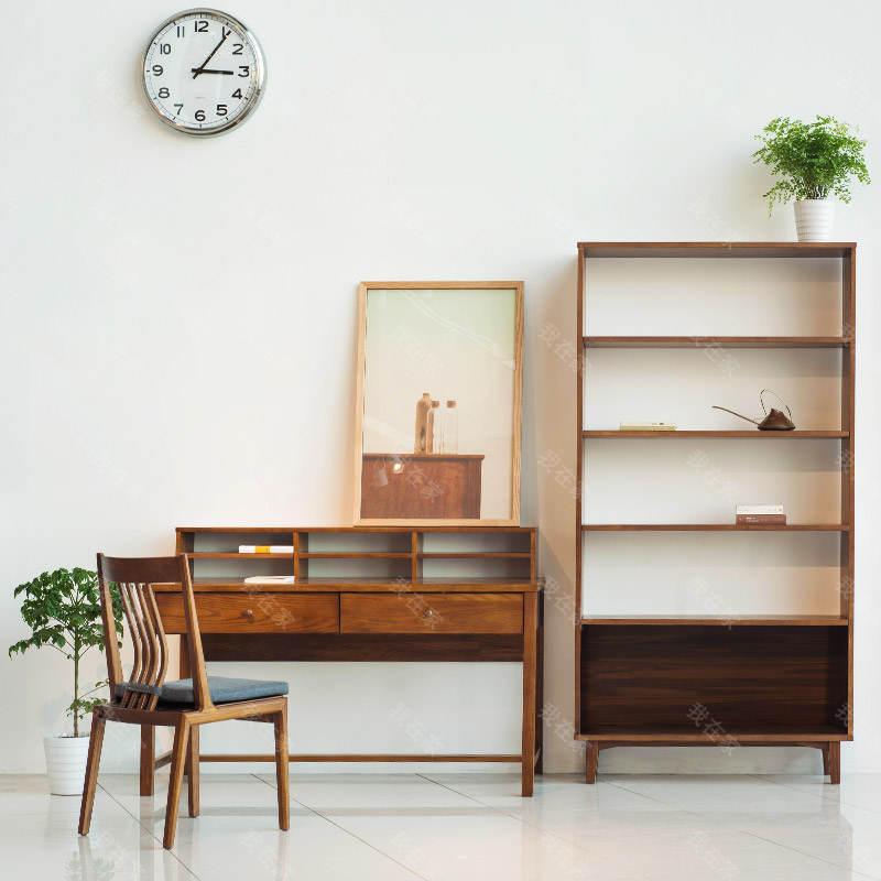 新中式风格木筵书架