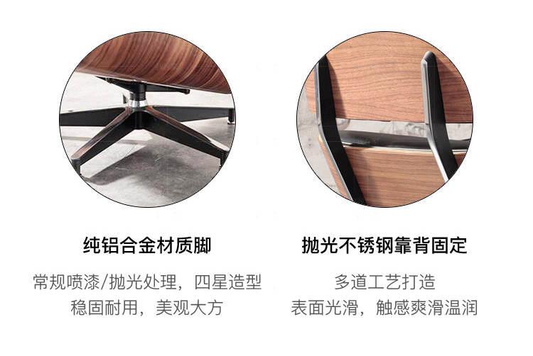 色彩北欧风格伊姆斯躺椅的家具详细介绍