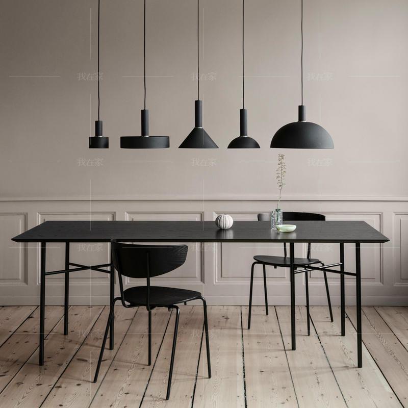 色彩北欧风格微光餐桌
