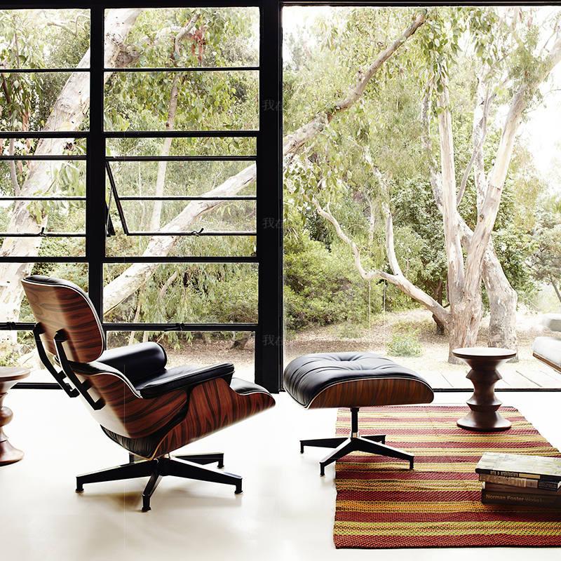 色彩北欧风格伊姆斯躺椅