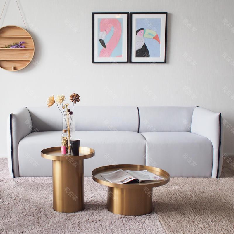 色彩北欧风格Mia布艺沙发