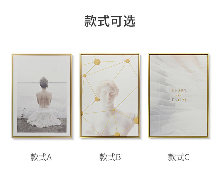 绘美映画系列云翼 自由畅想装饰画的详细介绍