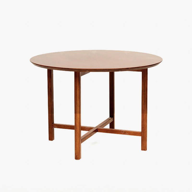 新中式风格知足圆餐桌