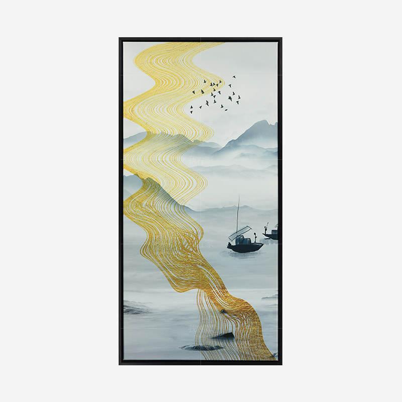 绘美映画系列泛舟 抽象艺术挂画