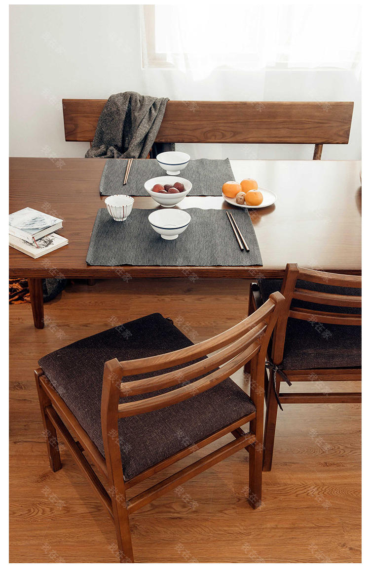 新中式风格木筵餐桌(样品特惠)的家具详细介绍