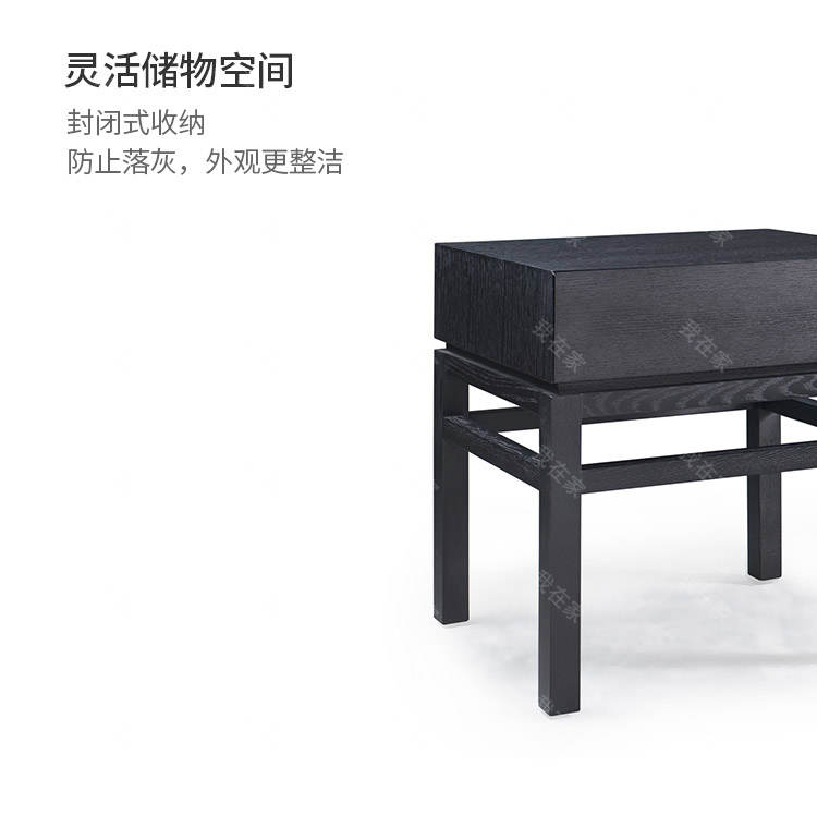 意式极简风格伯爵床头柜(样品特惠)的家具详细介绍