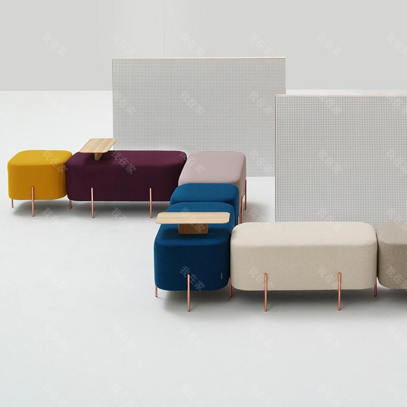 色彩北欧风格大象凳子