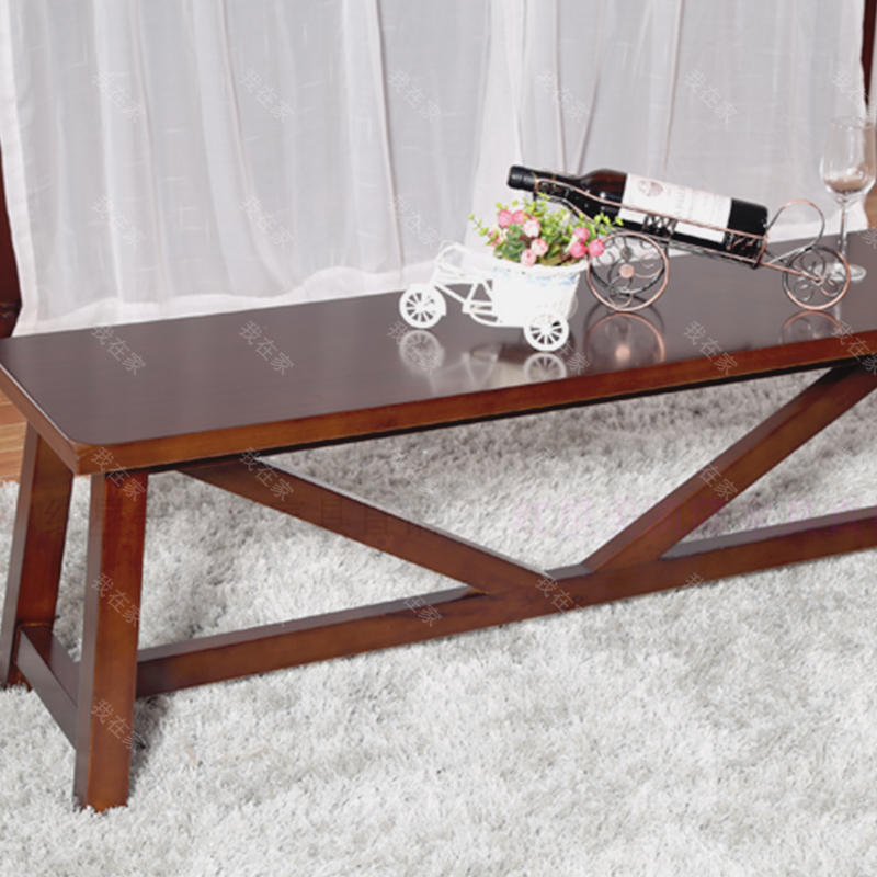 简约美式风格普拉莫长条凳
