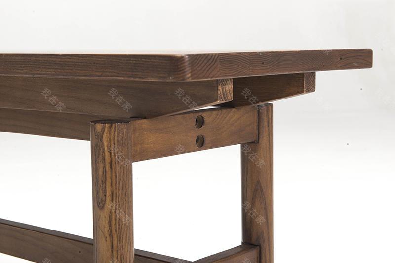 新中式风格怀谷长条凳的家具详细介绍