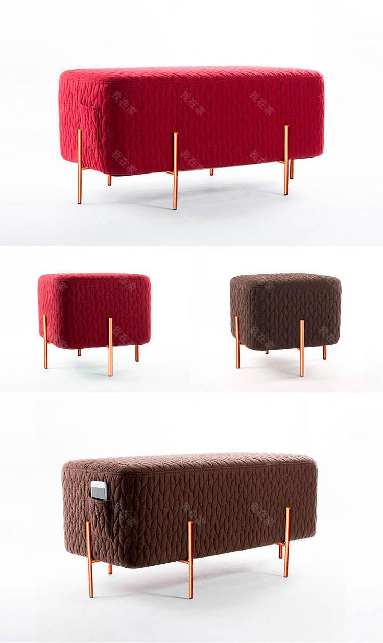 色彩北欧风格大象凳子第二代的家具详细介绍