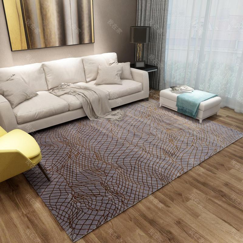 地毯品牌抽象线条机织地毯